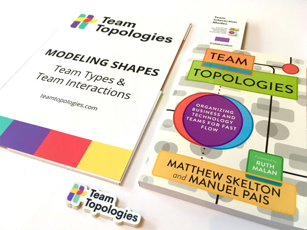 Team Topologies book and shapes folder